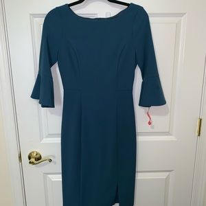 {White house black market} Blue dress